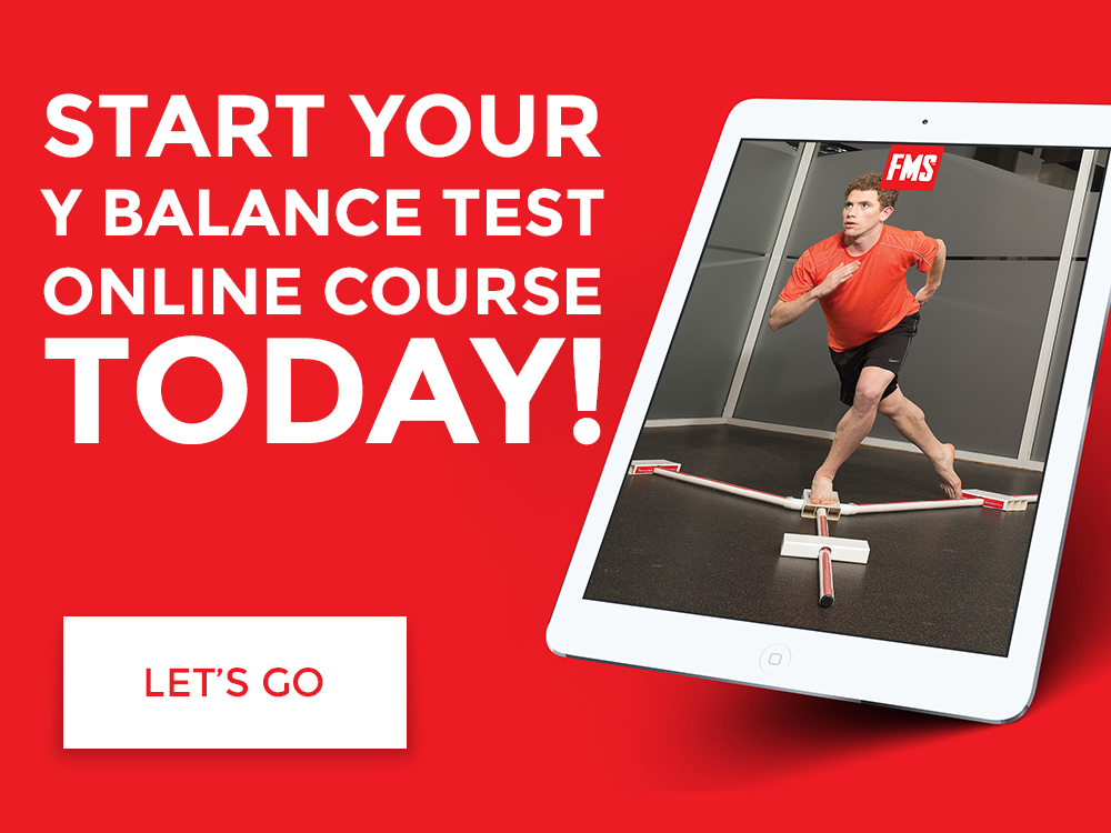Y Balance Test Online Course with Text
